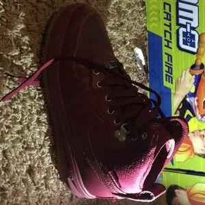 Maroon Nike's